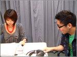 寺坂さんのデパートトークにも興味津々の隊長。