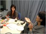 和田さん、アフィリエイトを説明中。