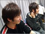 手前が松山さん、後方が岡さんです。